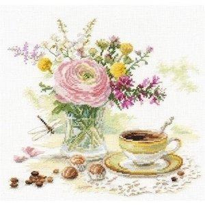 Alisa Alisa borduurpakket Morning Coffee S5-18