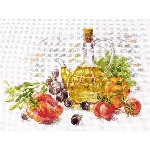 Alisa Alisa borduurpakket Olive Still Life S5-20