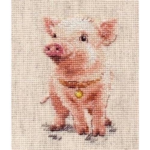 Alisa Alisa borduurpakket Piggy al-00-185