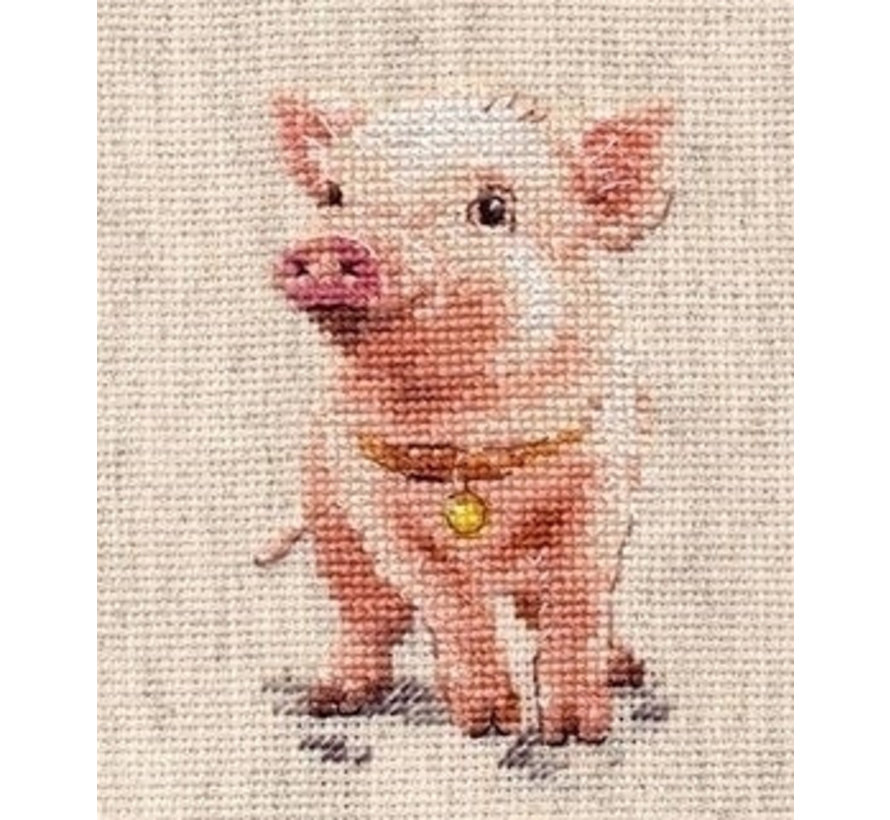 Alisa borduurpakket Piggy al-00-185