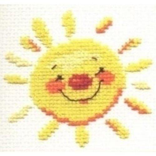 Alisa Alisa borduurpakket Sun S0-24