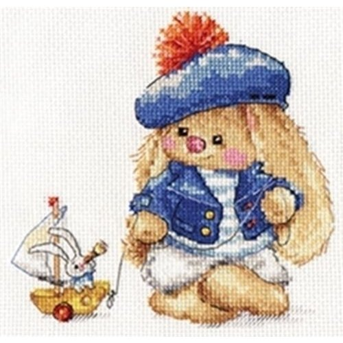 Alisa Alisa borduurpakket Zaika Mi Sailor S0-180