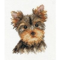 Alisa borduurpakket Yorkshire Terrier al-01-029