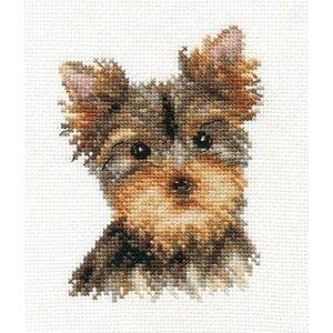 Alisa Alisa borduurpakket Yorkshire Terrier al-01-029