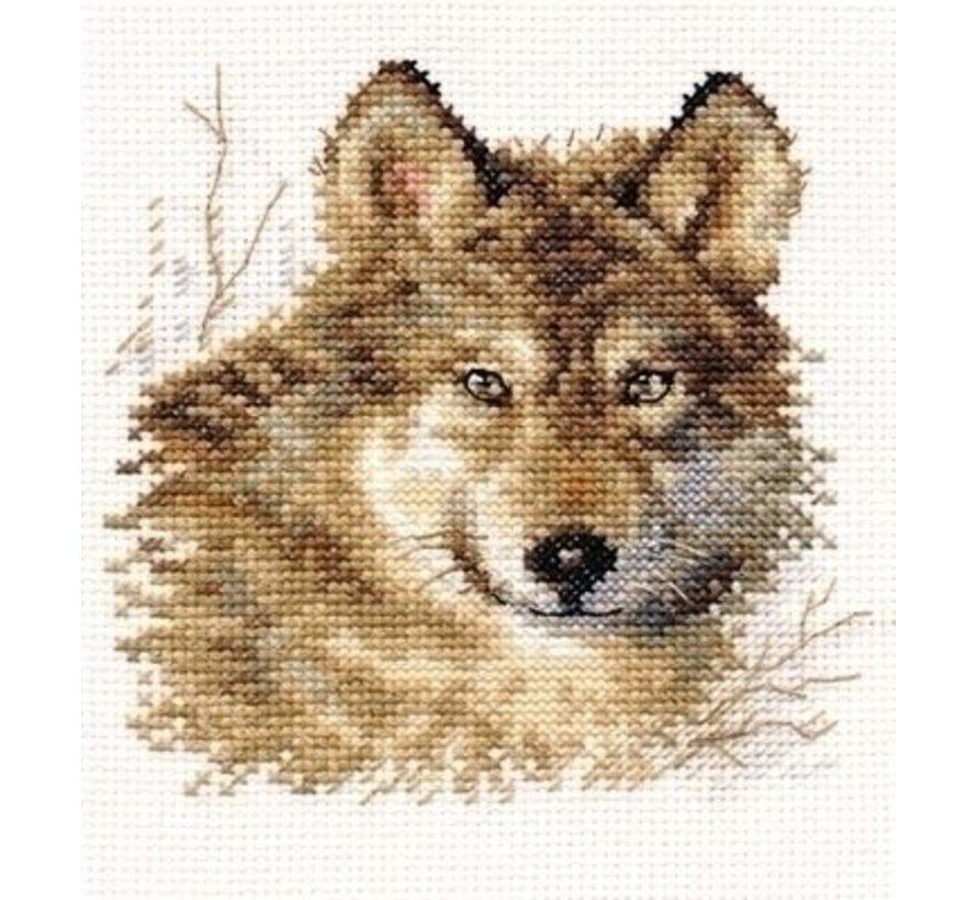 Alisa borduurpakket Wolf 01-027