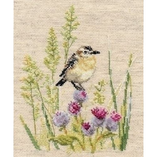 Alisa Alisa borduurpakket Bird 01-026