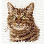 Alisa borduurpakket European Cat al-00-135