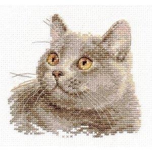 Alisa Alisa borduurpakket British Cat al-00-134