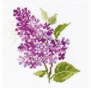 Alisa borduurpakket Sprig of lilac al-00-138