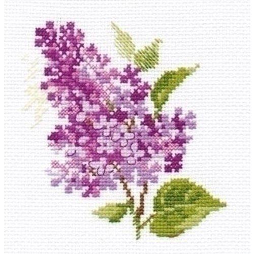 Alisa Alisa borduurpakket Sprig of lilac al-00-138