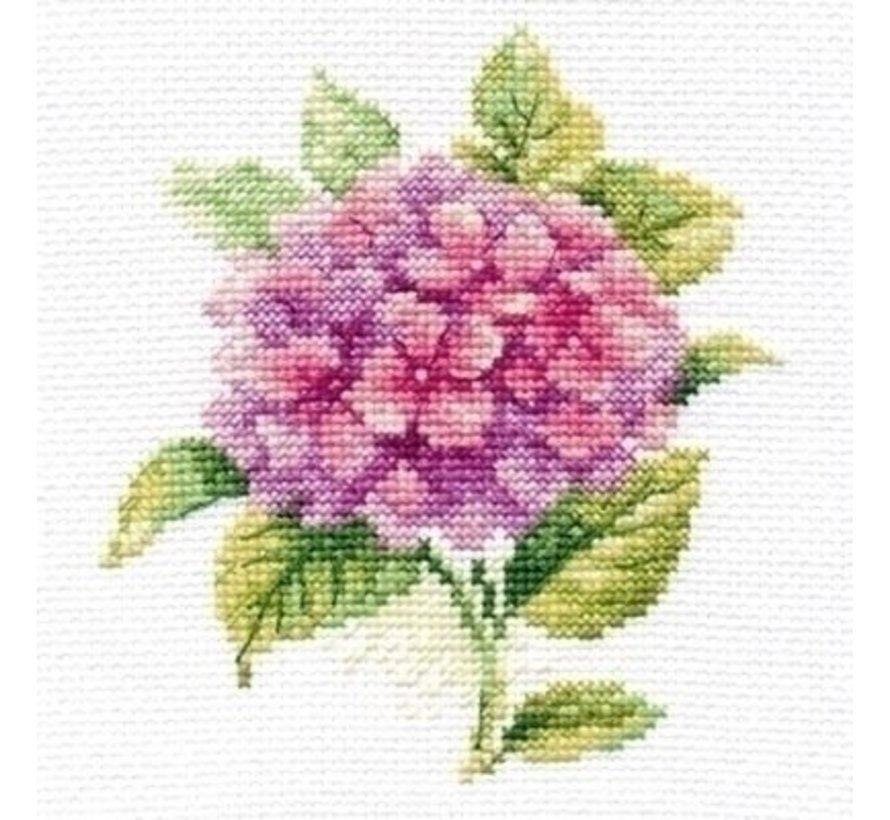 Alisa borduurpakket Hydrangea al-00-137