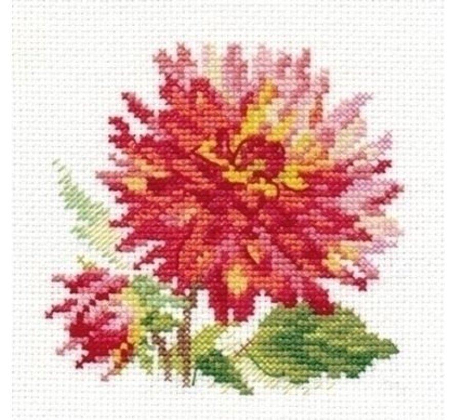 Alisa borduurpakket Dahlia al-00-139
