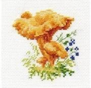 Alisa borduurpakket Chanterelles al-00-143