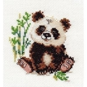 Alisa Alisa kruissteek borduurpakket Panda al-00-145