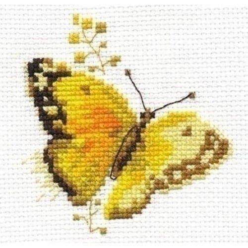 Alisa Alisa Bright Butterfly Yellow al-00-147