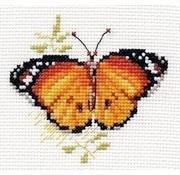 Alisa Bright Butterfly Orange al-00-148