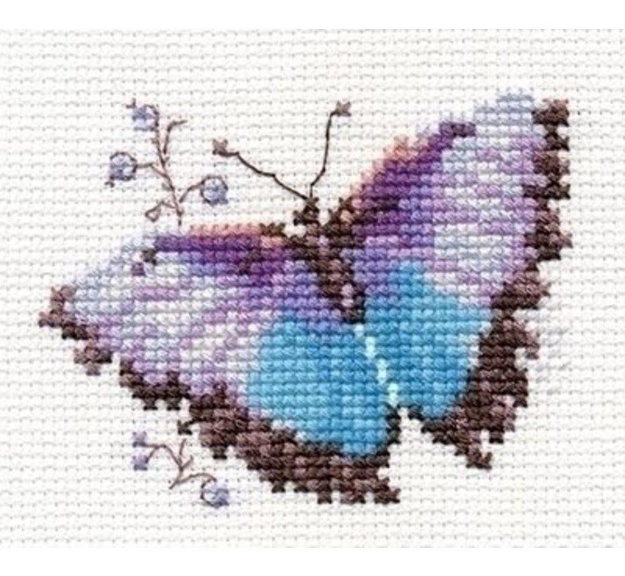 Alisa Bright Butterfly Blue al-00-149