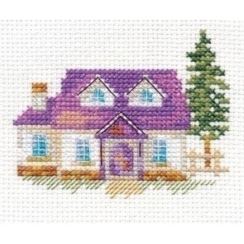 Alisa Alisa borduurpakket House on the Hill al-00-153