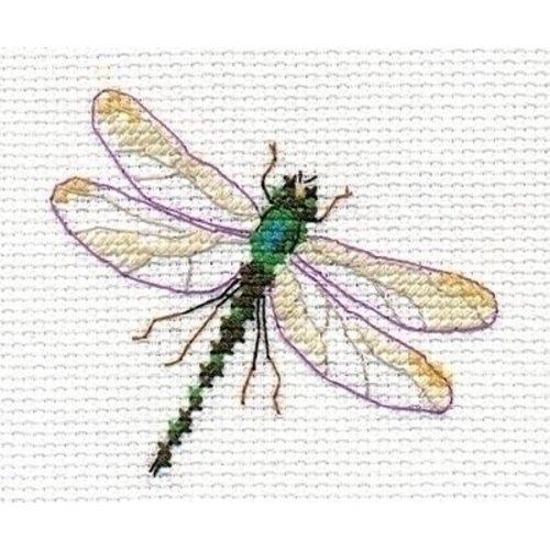 Alisa Alisa borduurpakket Dragonfly al-00-161