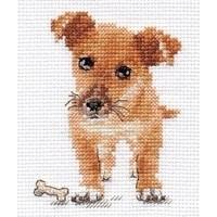 Alisa borduurpakket Puppy al-00-168