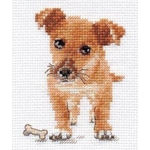 Alisa Alisa borduurpakket Puppy al-00-168