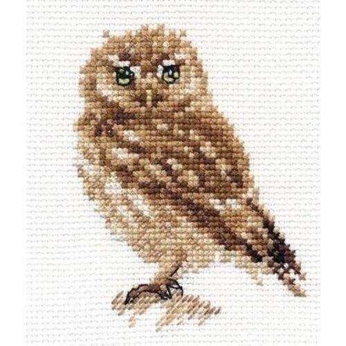 Alisa Alisa borduurpakket Owl al-00-166