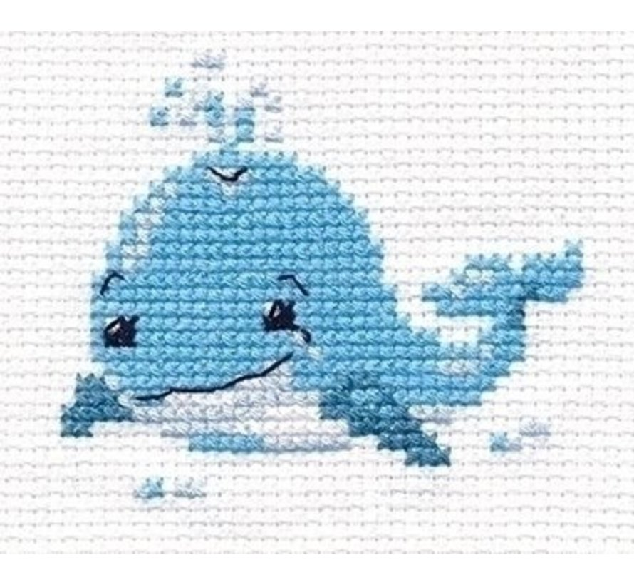 Alisa borduurpakket Little Whale al-00-162