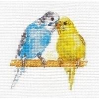 Alisa borduurpakket Parrots al-00-176