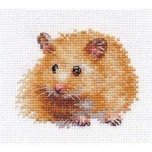 Alisa Alisa borduurpakket Hamster al-00-174