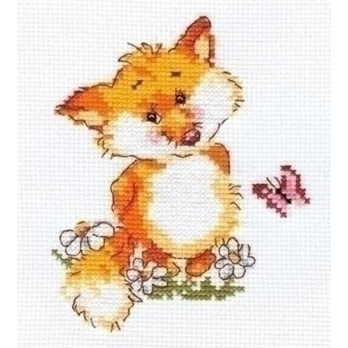 Alisa Alisa borduurpakket Little Fox 00-033