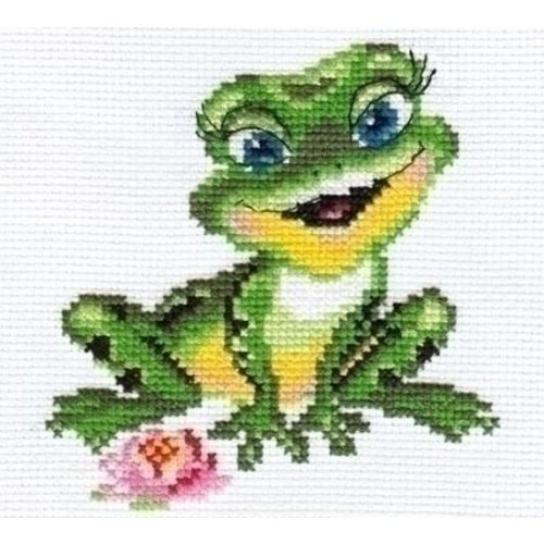 Alisa Alisa borduurpakket Beautuful Frog 00-057