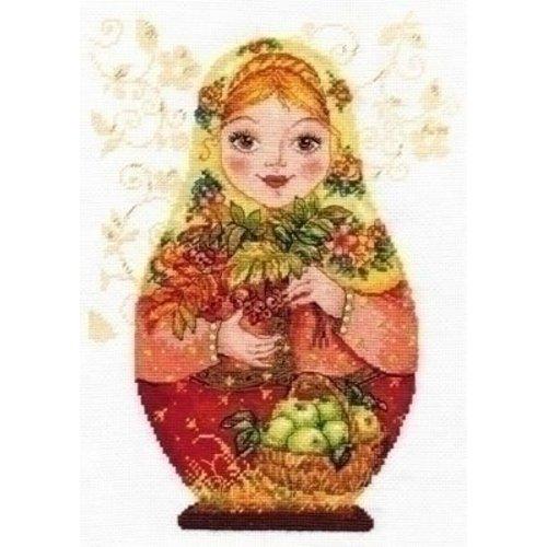 Alisa Alisa borduurpakket Matreshki Autumn Beauty 06-006