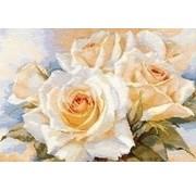 Alisa borduurpakket White Roses 02-032