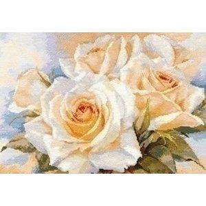 Alisa Alisa borduurpakket White Roses 02-032