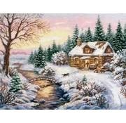 Alisa borduurpakket Winter Towards evening 03-015