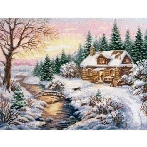 Alisa Alisa borduurpakket Winter Towards evening 03-015