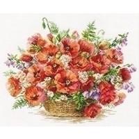 Alisa Basket of Poppies 02-028