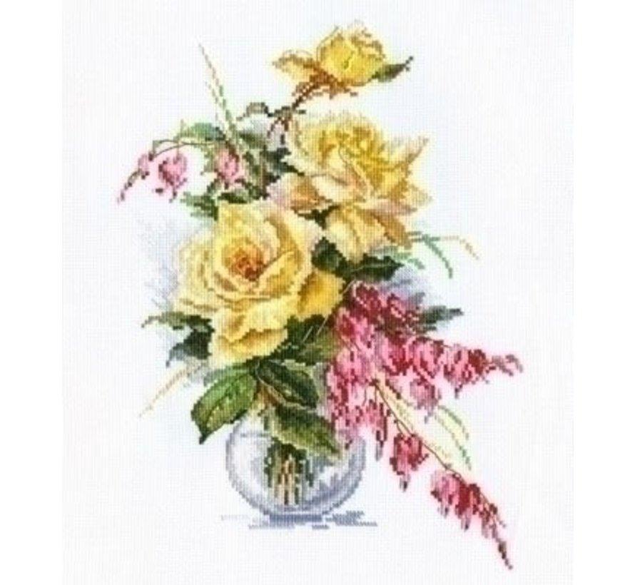 Alisa Yellow Roses 02-020