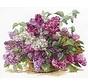 Alisa borduurpakket Lilac 02-022