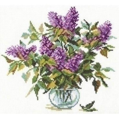 Alisa Alisa borduurpakket Bouquet of Lilacs 02-005