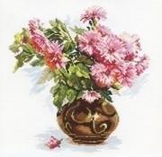 Alisa Blooming garden Chrysanthemums 02-009