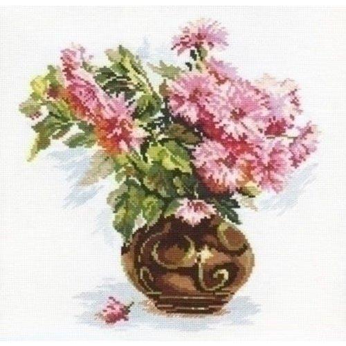 Alisa Alisa Blooming garden Chrysanthemums 02-009