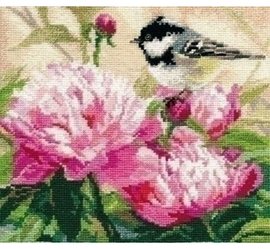 Alisa Titmouse and Peonies 01-022