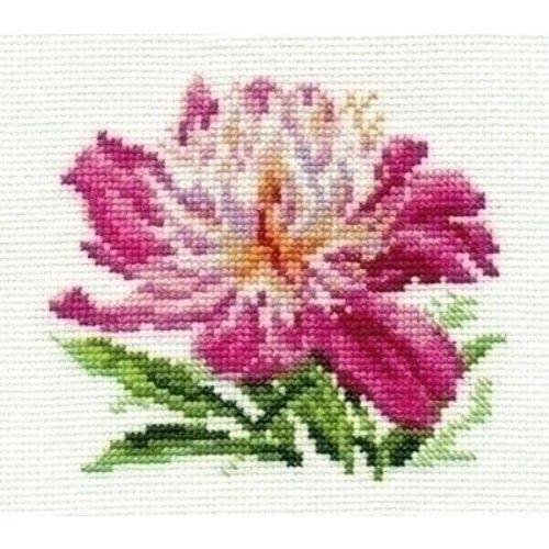 Alisa Alisa borduurpakket Pink Peony 00-119