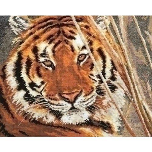 Alisa Alisa borduurpakket Tiger 01-008