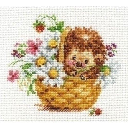 Alisa Alisa Hedgehog in daisies 00-113