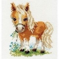 Alisa White mane Horse 00-114