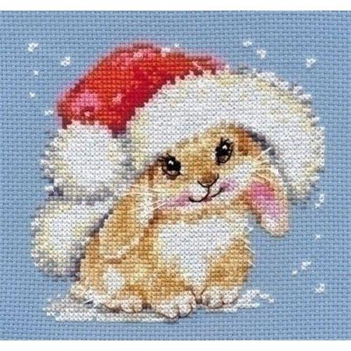Alisa Alisa borduurpakket Winter bunny 00-095