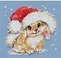 Alisa borduurpakket Winter bunny 00-095
