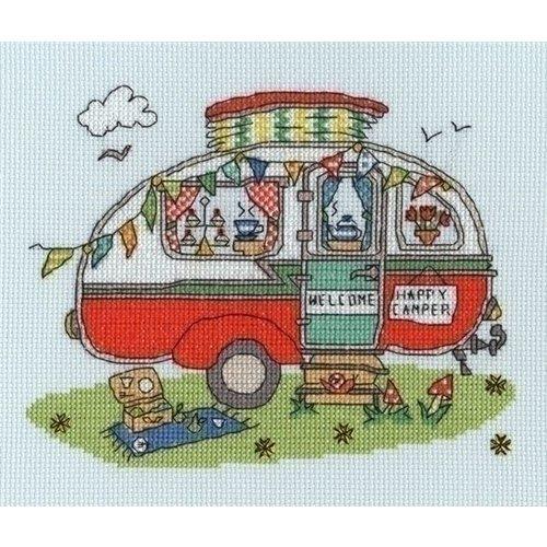 Bothy Threads Bothy Threads borduurpakket Sew Dinky Caravan XSD8